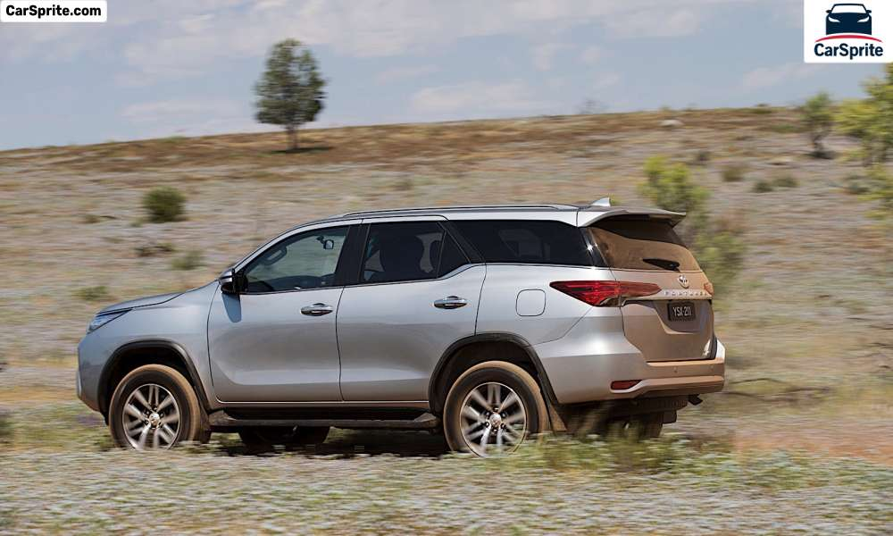toyota fortuner 2020 prices and specifications in egypt
