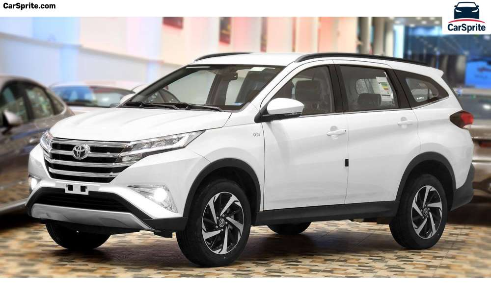 toyota rush 2020 prices and specifications in egypt