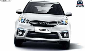 Chery Tiggo 3 2020 prices and specifications in Egypt | Car Sprite