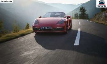 Porsche 718 Boxster GTS 2020 prices and specifications in Egypt | Car Sprite