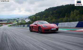 Porsche 718 Cayman GTS 2020 prices and specifications in Egypt | Car Sprite