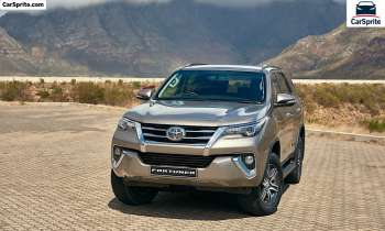 Toyota Fortuner 2021 prices and specifications in Egypt | Car Sprite